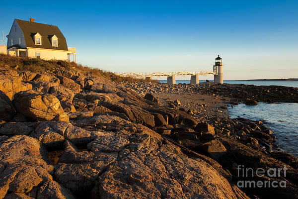 Wall Art - Photograph - Marshall Point Lighthouse by Brian Jannsen