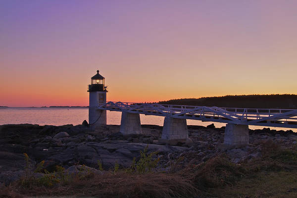 Photograph - Marshell Point Light House by Dale J Martin