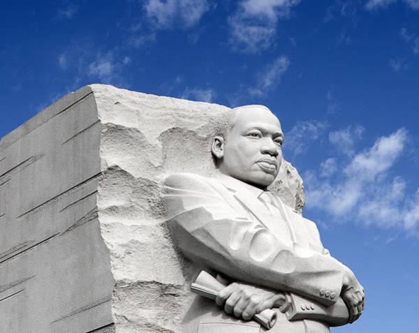 Wall Art - Photograph - Martin Luther King Jr Memorial - Washington Dc by Brendan Reals