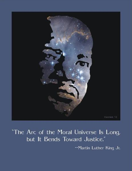 Digital Art - Martin Luther King, Jr. Poster by Walter Neal