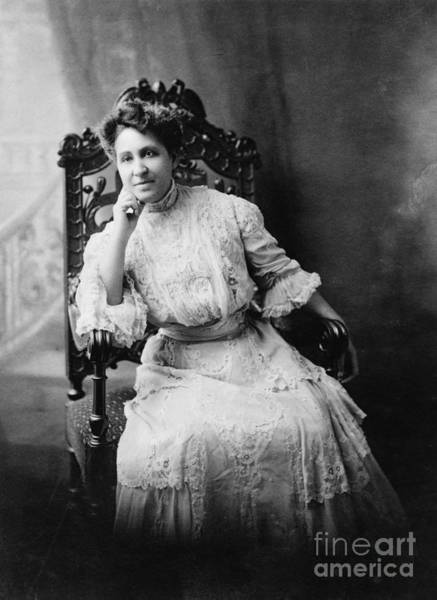 Photograph - Mary Eliza Church Terrell by Granger