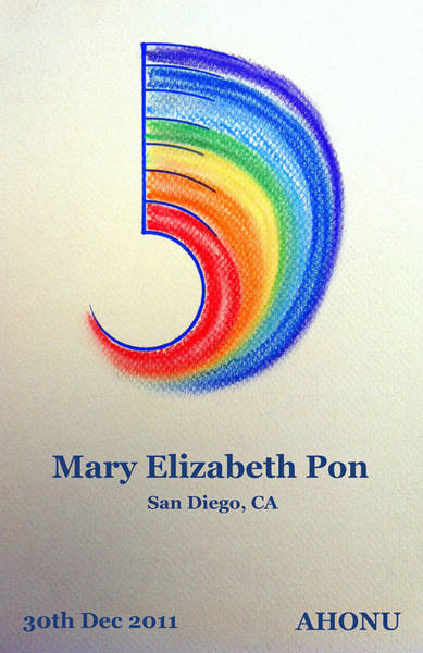 Painting - Mary Elizabeth Pon by Ahonu