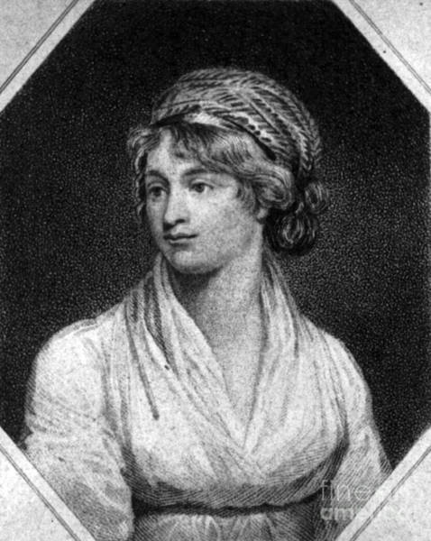 Photograph - Mary Wollstonecraft by Photo Researchers