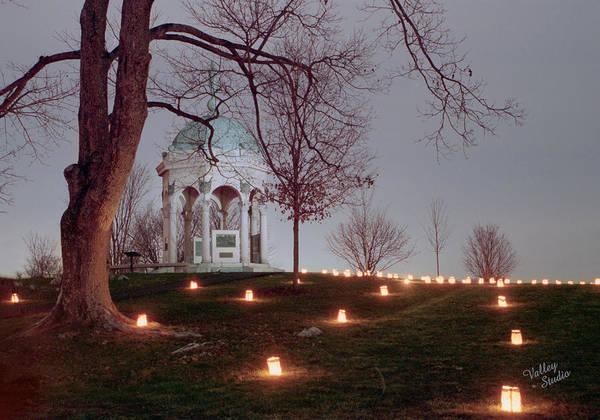 Luminaries Photograph - Maryland Monument 11 by Judi Quelland