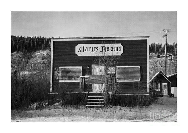 Timbers Photograph - Mary's Rooms by Priska Wettstein