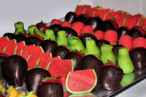Photograph - Marzipan And Chocolate by Kristin Elmquist