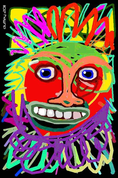 Photograph - Mask 1 by Doug Duffey