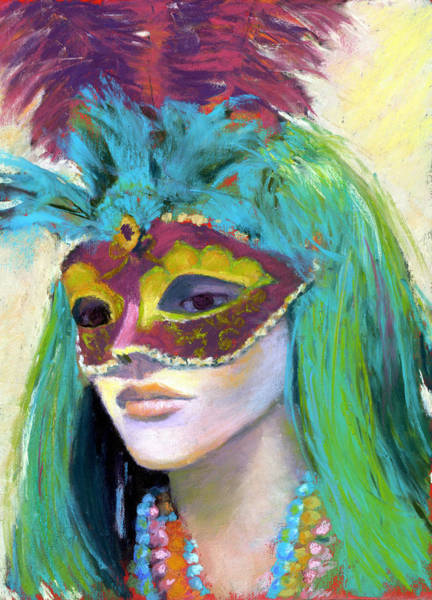 Wall Art - Painting - Masked Mannequin by Cheryl Whitehall