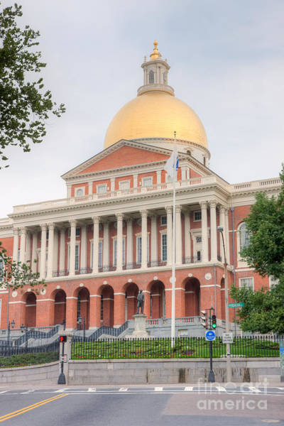 Photograph - Massachusetts State House I by Clarence Holmes