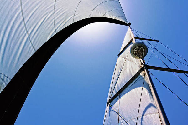 Photograph - Mast And Sails by Donna Pagakis