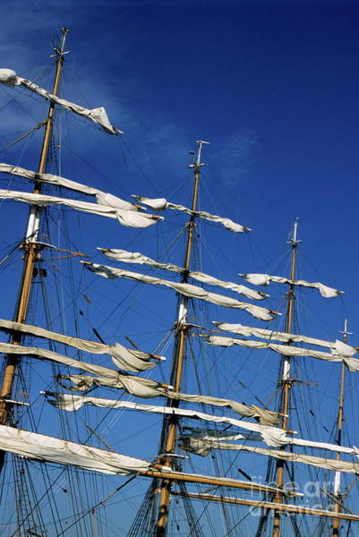 Wall Art - Photograph - Mast Of A Russian Sailing Ship by Sami Sarkis