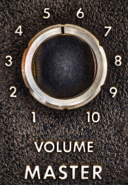 Numbers Photograph - Master Volume by Scott Norris