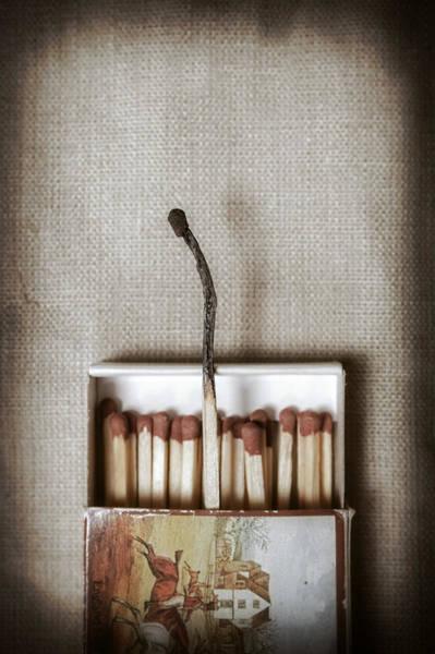Light Box Photograph - Matches by Joana Kruse