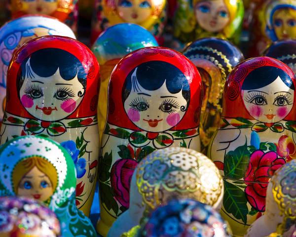 Wall Art - Photograph - Matryoshka Doll  . . .  Russian Nesting Doll by Juli Scalzi