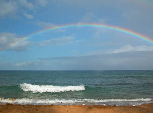 Photograph - Maui Morning Rainbow by Lynn Bauer