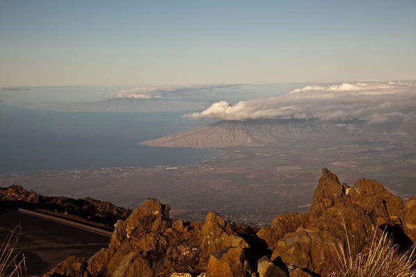 Wall Art - Photograph - Maui View From The Crater by Patrick  Flynn