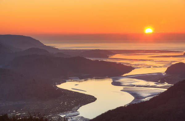Barmouth Photograph - Mawddach Sunset by Rory Trappe