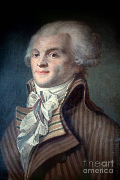 Photograph - Maximilien De Robespierre by Granger