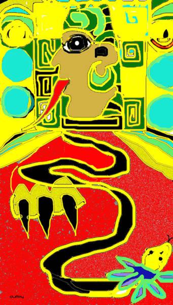 Photograph - Maya Red Yellow Turquoise by Doug Duffey