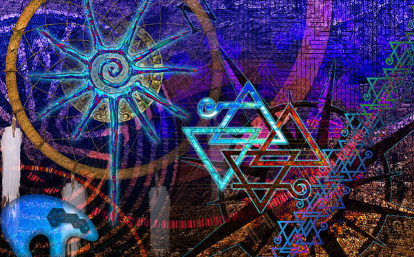 Digital Art - Mazes by Kenneth Armand Johnson