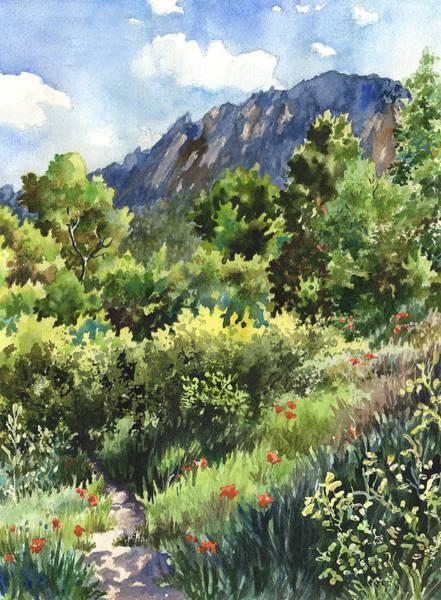Wall Art - Painting - Mcclintock Trailhead by Anne Gifford