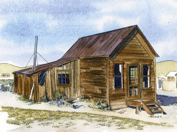 Bodie Painting - Mcmillian House by Mark Jennings