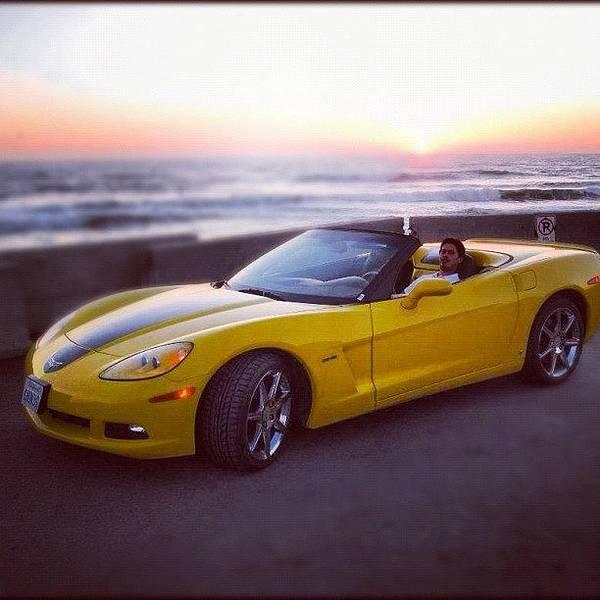 Chevrolet Corvette Photograph - #me #myself #i #corvette #chevy by Alon Ben Levy