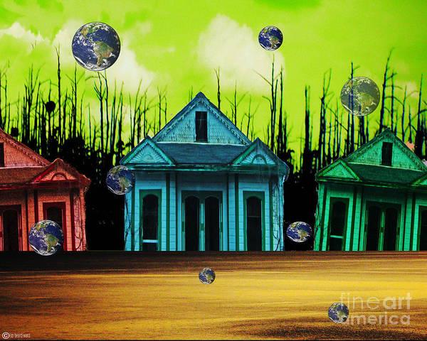 Katrina Digital Art - Means Of Escape by Lizi Beard-Ward