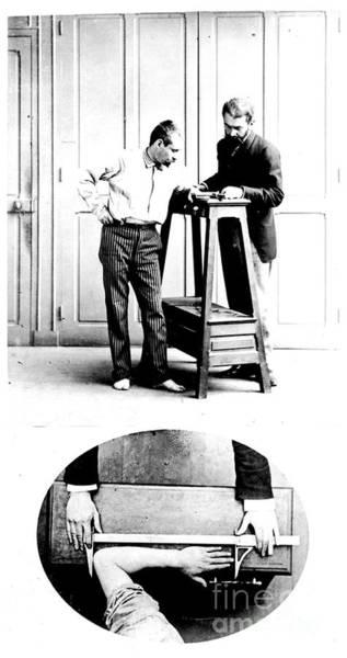Photograph - Measurement Of The Cubit, Bertillon by Science Source