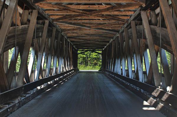 Photograph - Mechanicsville Road Bridge Interior by At Lands End Photography