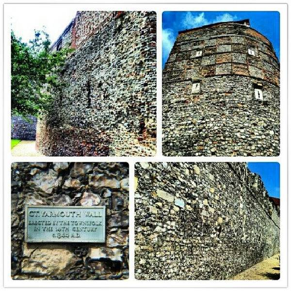 Norfolk Photograph - Medieval Town Wall Built 1433 #town by Invisible Man