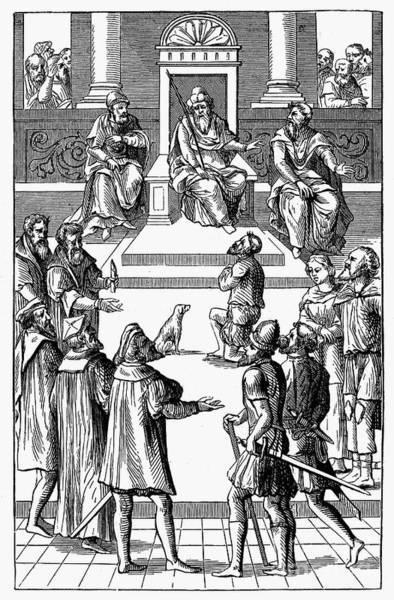 Amnesty Photograph - Medieval Tribunal by Granger