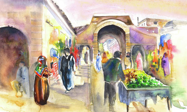 Painting - Medina Of Essaouira by Miki De Goodaboom