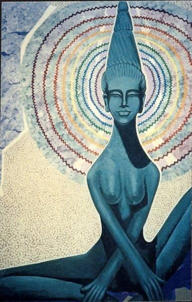 Painting - Meditation by Richard Laeton