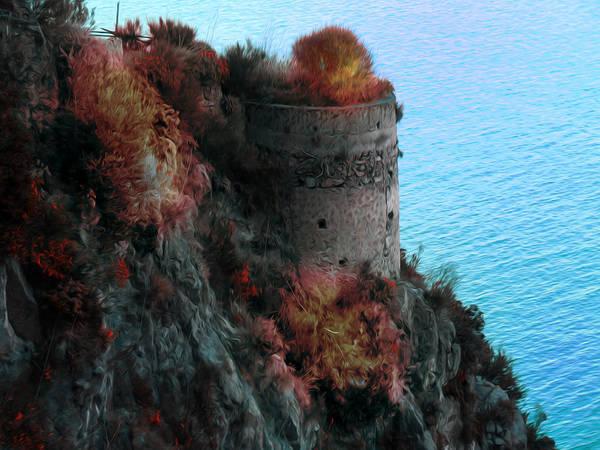 Photograph - Mediterranean Turret by Bill Cannon