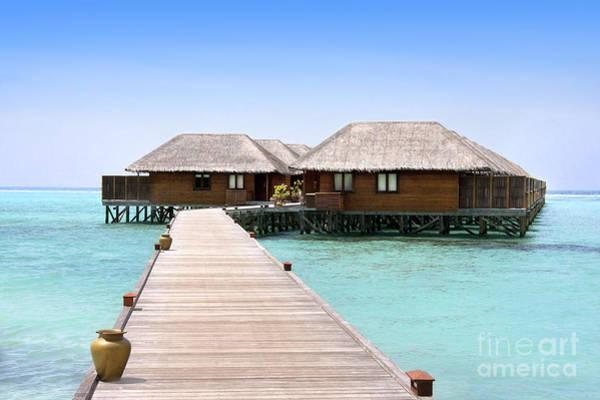 Atoll Photograph - Meeru by Jane Rix