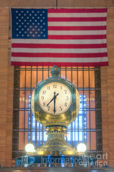 Photograph - Meet Me At The Clock IIi by Clarence Holmes