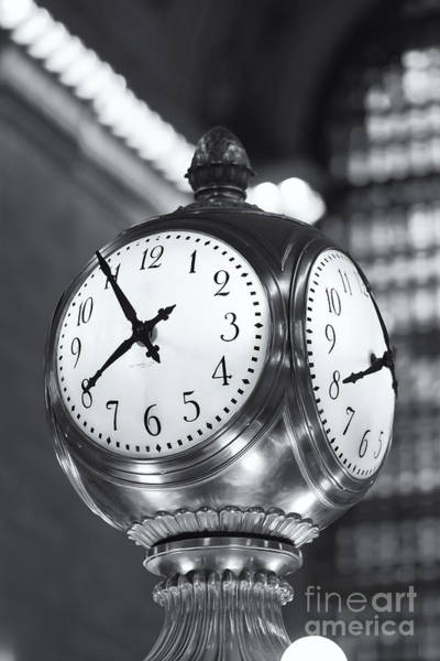 Photograph - Meet Me At The Clock Iv by Clarence Holmes
