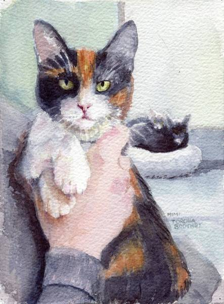 Painting - Meggy - Pick Of The Litter by Mimi Boothby