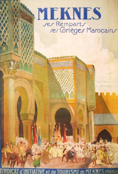 Moroccan Digital Art - Meknes Morocco by Georgia Fowler