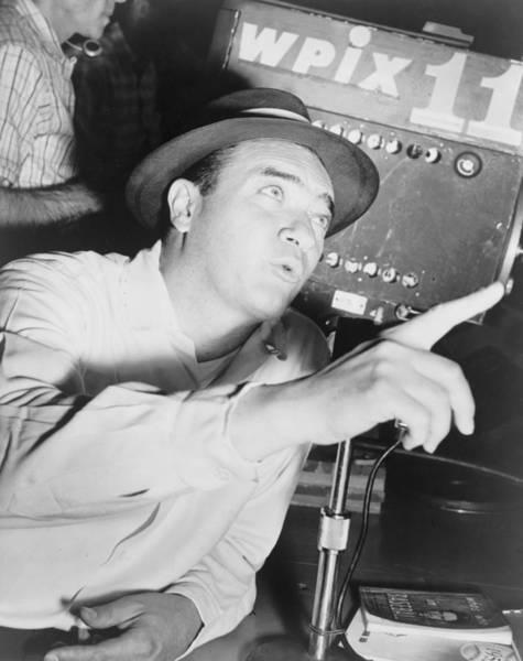 Baseball Hall Of Fame Photograph - Mel Allen 1913-1996 Sports Announcer by Everett
