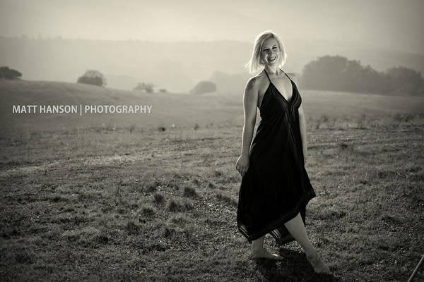 Photograph - Melissa Portrait 01 by Matt Hanson
