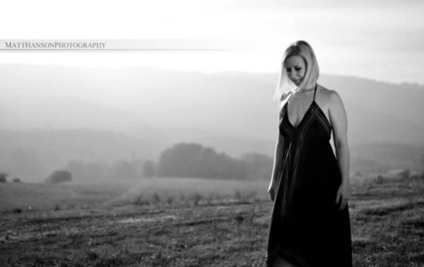 Photograph - Melissa Portrait 04 by Matt Hanson