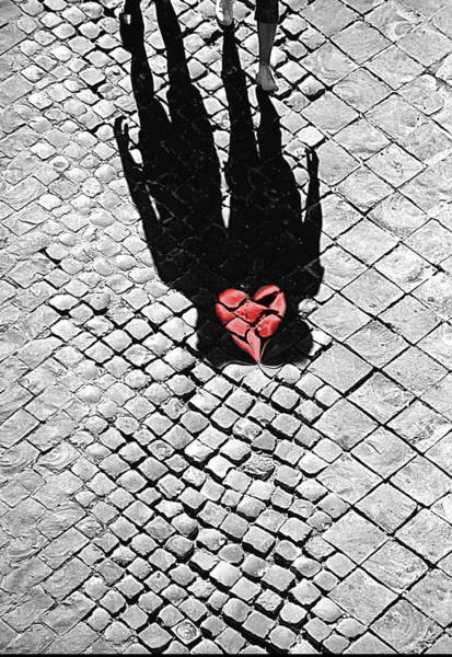 Together Forever Photograph - Melted In Love by Valentino Visentini