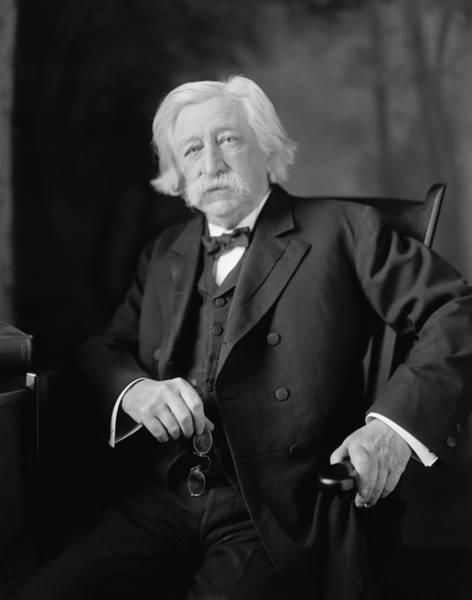 Melville Photograph - Melville W. Fuller 1833-1910, Eighth by Everett