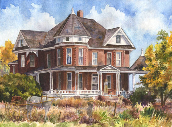 Brick Wall Art - Painting - Memories by Anne Gifford