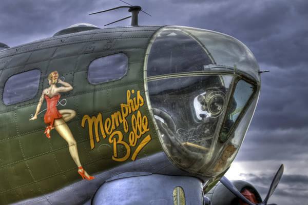 Flying Fortress Photograph - Memphis Belle by Nigel Jones