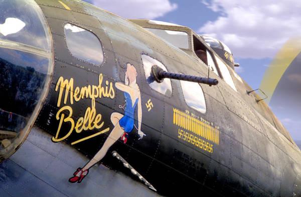 Wall Art - Photograph - Memphis Belle Noce Art B - 17 by Mike McGlothlen