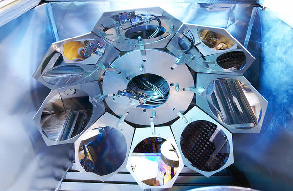 Microelectromechanical Systems Wall Art - Photograph - Mems Production, Metal Evaporation by Colin Cuthbert