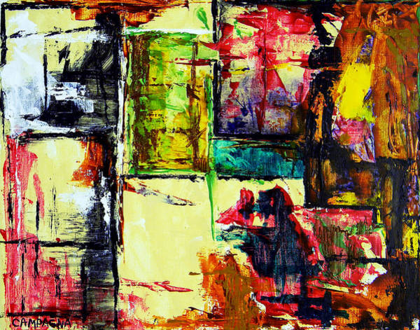 Painting - Mental Slum by Teddy Campagna
